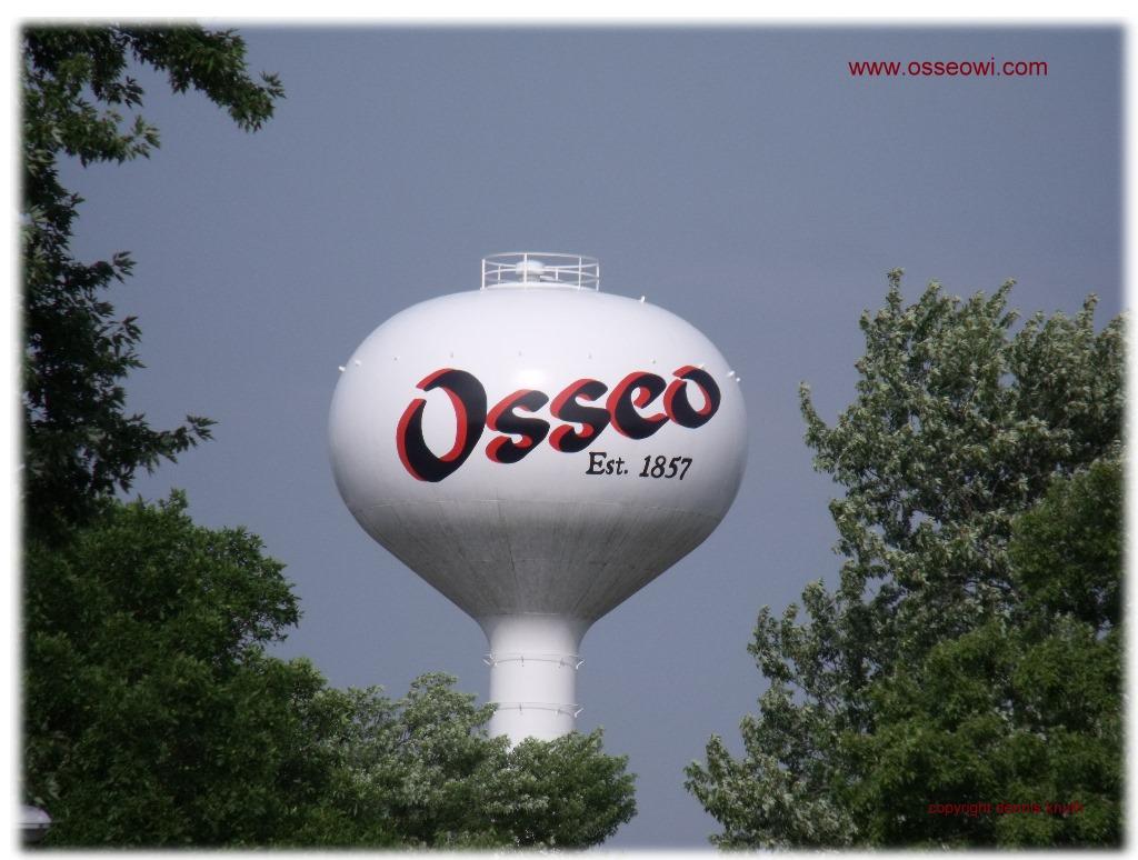 Osseo Wisconsin Watertower Photo